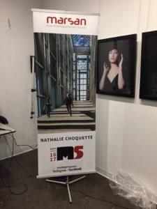Hors portfolio, mais exposée lors de cette soirée, c'est cette photo prise au musée des beaux-arts du Canada, à Ottawa, qui figure sur ma banderole M5 !