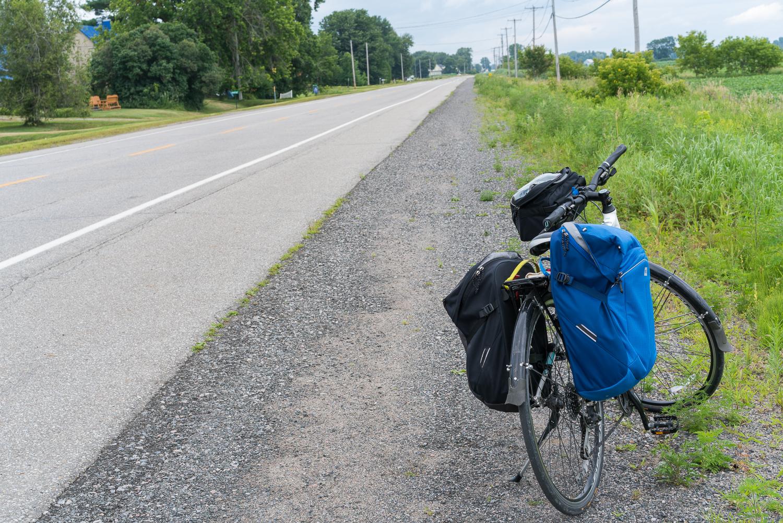 Voyage à vélo en solo